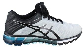 ASICS รองเท้าวิ่ง ASICS GEL-QUANTUM 180 men's รหัส T5J2N 9390 (SILVER/BLACK/INK BLUE)