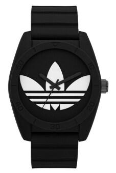 Adidas นาฬิกาข้อมือผู้ชาย สีดำ สายยาง รุ่น ADH6167