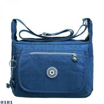 Marino กระเป๋า กระเป๋าสะพาย กระเป๋าสะพายผู้หญิงผ้าไนล่อน No.0181 - D.Blue