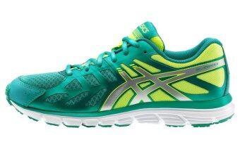 ASICS รองเท้าวิ่ง ASICS GEL-ZARAZA 3 women's รหัส T4D8N 8893 (EMERALD GREEN/SILVER/FLASH YELLOW)