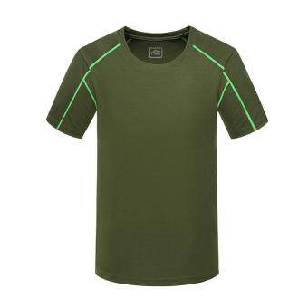 Harga Men Sport Short Sleeve T- Shirt Plus Size (XXXXL – army green)