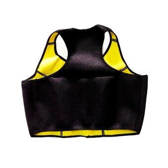 lisaBody Shaper Bra บรา สลายไขมัน ลดไขมัน ตัวช่วยเครื่องออกกำลังกาย ทำให้การลดน้ำหนักเกิดประสิทธิภาพ ชุดกระชับสัดส่วน ลดน้ําหนัก ลดความอ้วนlisa0106-1ดำ