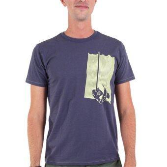 PHIL เสื้อยืดคอกลม ลายพิน็อคคิโอ - สีน้ำเงิน