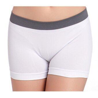 กีฬาออกกำลังกายกางเกงฤดูร้อนหญิงผอมเอวกางเกงโยคะขาว