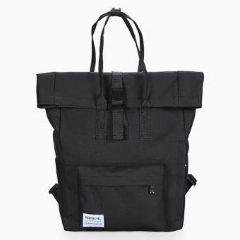 Little Bag กระเป๋าเป้สะพายหลัง กระเป๋าเป้เกาหลี กระเป๋าสะพายหลังผู้หญิง backpack women รุ่น LP-128 (สีดำ)