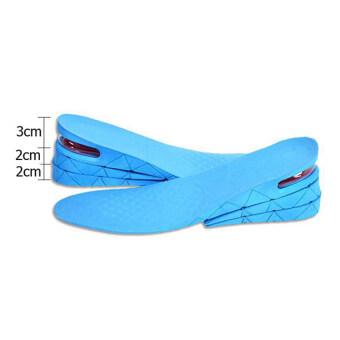 Ryder แผ่นรองรองเท้าเพิ่มความสูง3-7 cm -เพิ่มความสูง วิธีทำให้สูง รองเท้าเพิ่มความสูง แผ่นเพิ่มความสูง รองเท้าเสริมส้น Ryder 0085-blueสีน้ำเงิน