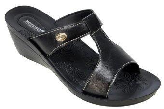 Aerosoft รองเท้าแตะ ผู้หญิง แบบสวม รุ่น S5004 (ดำ)