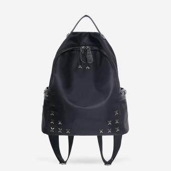 Little Bag กระเป๋าเป้สะพายหลัง กระเป๋าเป้เกาหลี กระเป๋าสะพายหลังผู้หญิง backpack women รุ่น LP-110 (สีดำ)