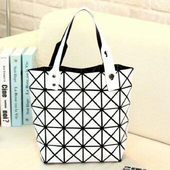 Bag Fashion กระเป๋าแฟชั่น สำหรับถือและสะพายไหล่ รุ่น011 (สีขาว)