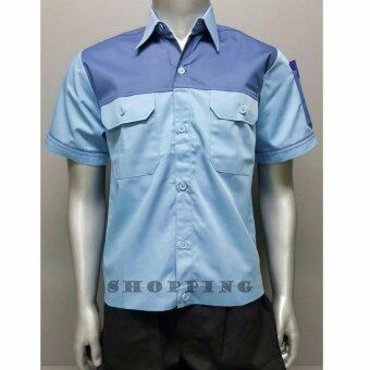 เสื้อช็อบ เสื้อวิศวะ เสื้อทำงาน Size M รอบอก 42 นิ้ว