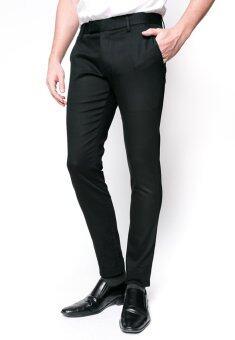 B&B กางเกงขายาว Chino Pant ( BLACK )