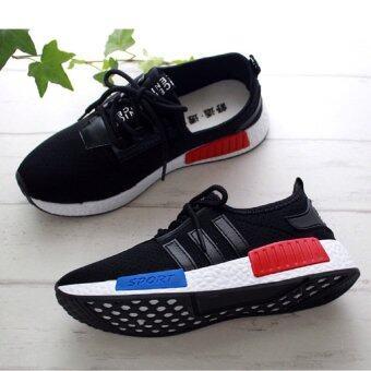 Sharni รองเท้าผ้าใบแฟชั่นทรงSport รุ่น SN59A01 (สีดำ)