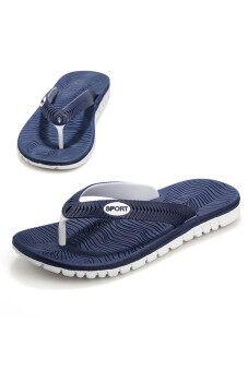 ชาย Znpnxn รองเท้าแตะลำลองรองเท้าแตะ (สีน้ำเงิน)