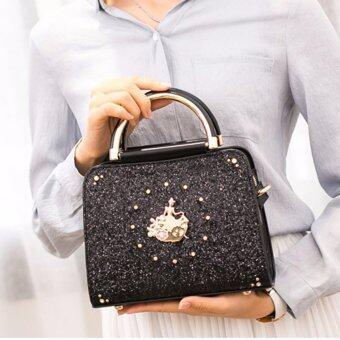 AXIXI กระเป๋าแฟชั่นผู้หญิง รุ่น Princess Jasper สีดำ