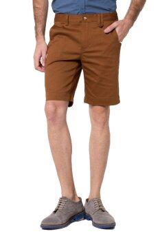B&B menswear & Fashion กางเกงขาสั้น Chino (Golden Brown)