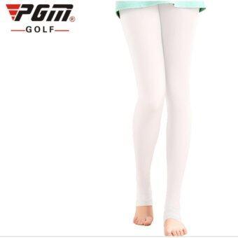 EXCEED LEGGINGS LADY WHITE COLOUR กางเกงเลคกิ้ง (KUZ014) สีขาว