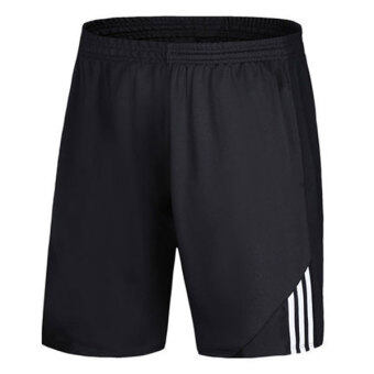 Harga Good Quality Breathable Soft Dry Fast Sports Basketball Men Shorts(White) - Intl