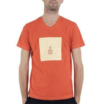 PHIL T-Shirt หอนาฬิกาบิคเบน - สีส้ม