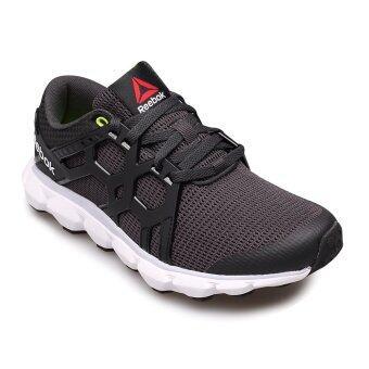 REEBOK WOMEN รองเท้าผ้าใบ สีดำ ผู้หญิง รุ่น HEXAFFECT RUN 4.0 MTM 0616 - 1-AR3102 (COAL/BLACK/GREY/WHT/YLOW)