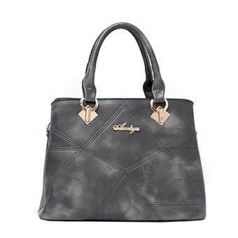 กระเป๋าถือ กระเป๋าสะพาย ผู้หญิง รหัส.8814 (สีเทา)