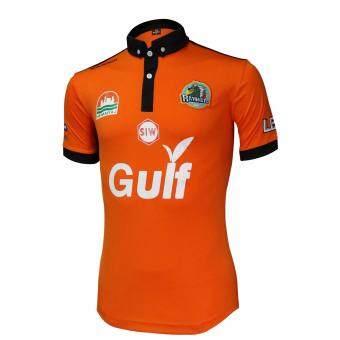 WARRIX SPORT เสื้อฟุตบอลชาย สโมสรระยอง WA-16RY-51M ( สีส้ม - ดำ )