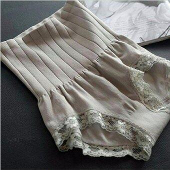 Munafie กางเกงในกระชับสัดส่วน กางเกงในเก็บพุง (สีเทา) - 1 ตัว
