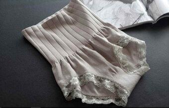 Munafie กางเกงสเตย์ญี่ปุ่นเก็บพุง ลดพุง กระชับสัดส่วน (สีเทา)