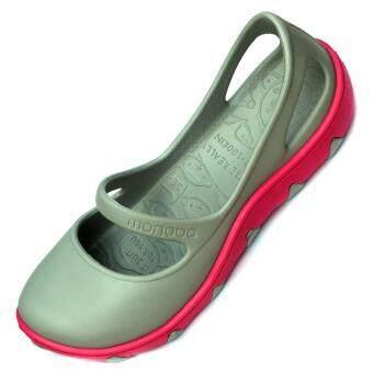 MONOBO TAMMY รองเท้าโมโนโบ้ (สีเทา/สีบานเย็น)