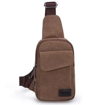 ไหล่ของคนส่งสาร MUZEE กระเป๋าถุงผ้ากระเป๋า...กาแฟ