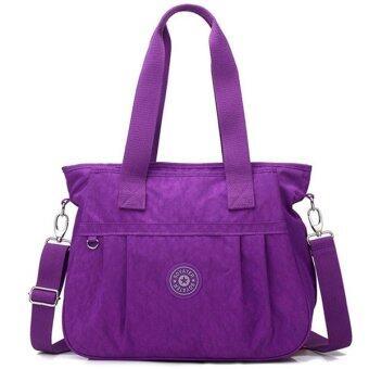 RICHCOCO กระเป๋าสะพาย เนื้อผ้าไนลอนกันน้ำ Waterproof Nylon Handbag (Violet)