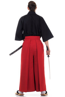 Princess of asia ชุดฮากามะ (สีดำ/แดง)