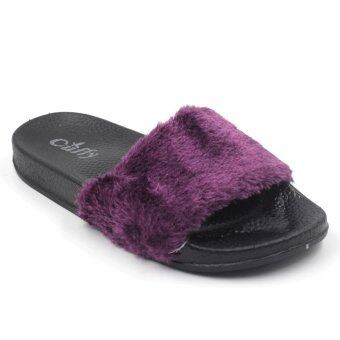 Air Move รองเท้าผ้าใบแฟชั่นผู้หญิง รุ่น FUR 101 (Purple )