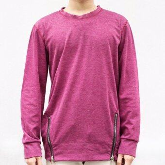 Harga WHAT'S UP Side Zippy Sweater (red)