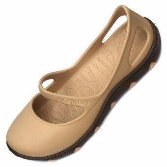 MONOBO TAMMY รองเท้าโมโนโบ้ (สีเบจ/สีน้ำตาล)