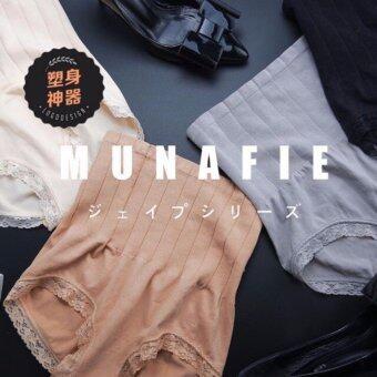 MUNAFIE กางเกงในญี่ปุ่น ยกกระชับ เนื้อ