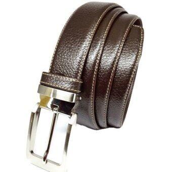 iruach leather เข็มขัด หนังวัวแท้ รุ่น B13022 - Brown