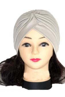 แฟชั่นผ้าพันคอหมวกผู้ใหญ่เพศหญ้าคาหูหมวกไหมพรมหมวกอินเดีย (สีน้ำตาล)