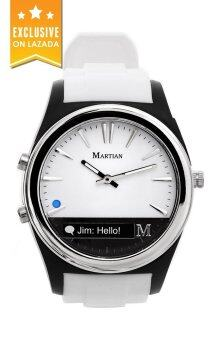 Martian Smart Watch นาฬิกา สายซิลิโคน รุ่น MN200WBW – White