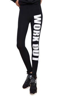 Sanwood ผู้หญิง Yoga Sport กางเกงเอวสูงขาสั้นกางเกงออกกำลังกาย (สีดำ)