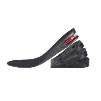 แผ่นเสริมส้นรองเท้า ขนาด 9 CM. แบบเต็มเท้า (สีดำ)