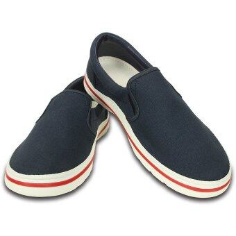 CROCS-Crocs Norlin Slip-on M-Navy/White-M10(US)