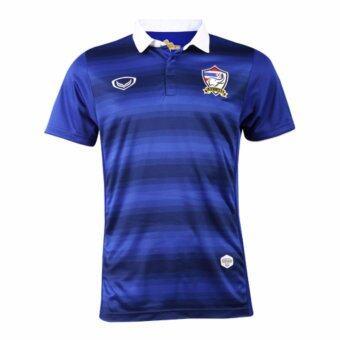 โปรโมชั่น KNOCKOUT SALE แกรนด์สปอร์ตเสื้อฟุตบอลทีมชาติไทย (น้ำเงิน )