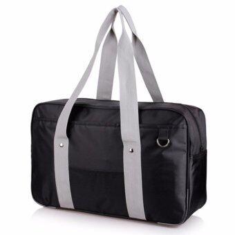 กระเป๋านักเรียนญี่ปุ่น Dark Black (สีดำ)