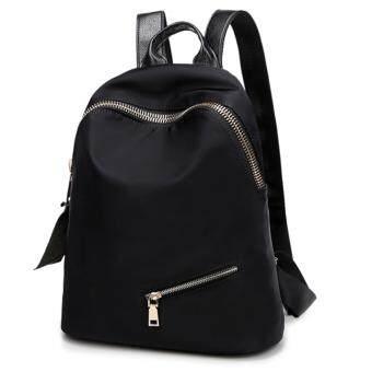 Little Bag กระเป๋าเป้สะพายหลัง กระเป๋าเป้เกาหลี กระเป๋าสะพายหลังผู้หญิง backpack women รุ่น LP-111 (สีดำ)