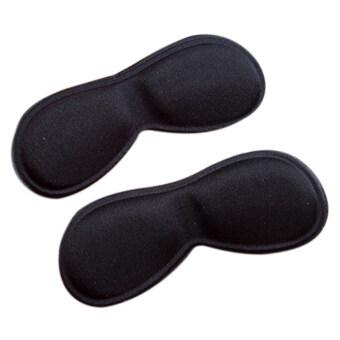 2ชิ้นผ้ารองเท้าส้นเท้าติดแผ่นรองแทรกย้อนกลับ Insoles DYHS จับดินสอ