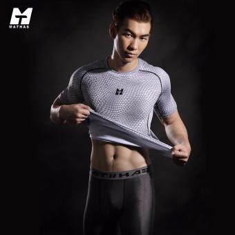 Mathas เสื้อรัดกล้ามเนื้อ UT Series สีขาว - กันแดด UPF30+ ผ้าแห้งเร็ว เย็น ไม่อับกลิ่น