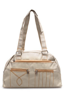 DM กระเป๋าสะพายเดินลาย Jean (สีเบจ)