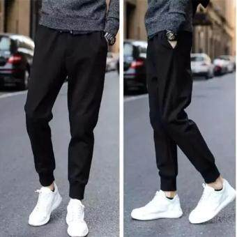 Save กางเกงวอมขายาว กางเกงออกกำลังกาย (สีดำ) รุ่น 120