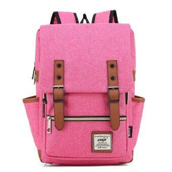 Marverlous กระเป๋า กระเป๋าเป้ Backpack MB01-สีแตงโม