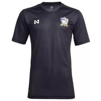 Warrix เสื้อเชียร์ฟุตบอลทีมชาติไทย สำหรับเด็ก 12 ปี Thai National Football Jersey For 12yr Kids รุ่น WA-17FT53M-AA